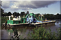 SO8269 : The River Severn above Lincomb Lock by Chris Allen