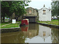 SK0181 : Canal terminus at Whaley Bridge, Derbyshire by Roger  Kidd