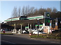 SU5766 : BP Service Station by Adrian Cable