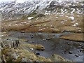 NY3512 : Steeping stones over Grisedale Beck by Oliver Dixon