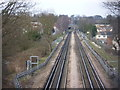 TL4500 : The Central line approaching Epping by Marathon