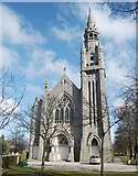 NJ9205 : Queen's Cross Parish Church, Queen's Cross, Aberdeen by Bill Harrison