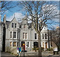 NJ9205 : Villas, Carden Place, Aberdeen by Bill Harrison