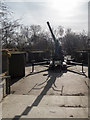 TQ3878 : Ack Ack Gun, Mudchute  Farm, London E14 by Christine Matthews