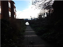 TM2531 : Arch under Marine Parade (from town) by Hamish Griffin