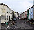 ST3088 : Colourful houses in East Street, Newport by Jaggery