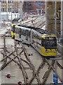 SJ8498 : Bury Tram at Victoria Station by David Dixon
