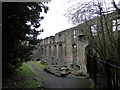 NT0887 : Ruins of former Benedictine Abbey, Dunfermline by Douglas Nelson