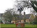 TL8248 : Glemsford, village sign by Adrian S Pye