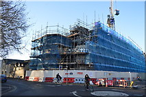TL4658 : New buildings going up, New St by N Chadwick