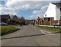 TM2281 : Brook Lane, Needham by Adrian Cable