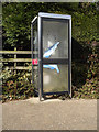 TM2281 : Telephone Box on High Road by Adrian Cable