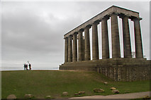 NT2674 : Monumental imbalance, Calton Hill by Chris Denny