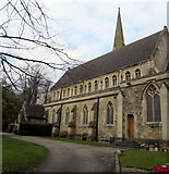 SU1484 : South side of St Mark's Church, Swindon by Jaggery