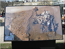 NT2574 : Mars Rover Selfie by M J Richardson