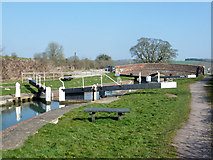 SU2562 : Lock 58 and bridge 101, Kennet and Avon Canal by Robin Webster