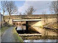 SD8538 : Leeds and Liverpool Canal, Reedyford Bridge by David Dixon