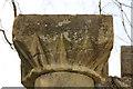 TF3387 : Scalloped capital by Richard Croft