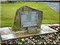 SD8131 : Hapton Valley Pit Disaster Memorial by David Dixon
