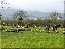 SD8131 : Burnley Cemetery, Muslim Burial Area by David Dixon