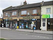 TQ2081 : Pharmacy, Horn Lane, North Acton by David Hawgood