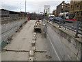 SE1633 : Access ramp to Broadway development, Bradford by Stephen Craven