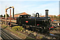 SO8376 : 'Coal tank' - Kidderminster Station by Chris Allen