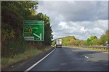 SK7272 : A1 - 1/2 mile to Markham Moor junction by Robin Webster