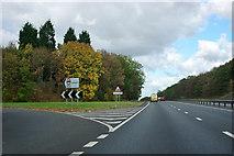 SK8254 : A1 - turn off for Coddington by Robin Webster