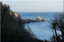 SX9364 : Devil's Point, Anstey's Cove, Torquay by Ian S