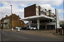 TQ1980 : Flats above former petrol station, Gunnersbury Lane, W3 by Christopher Hilton