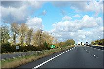 SK7958 : A1 - junction for B6325 by Robin Webster