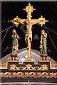TQ2976 : Christ Church, Union Grove - Rood by John Salmon