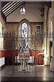 TQ3387 : St Andrew, Bethune Road - Baptistery by John Salmon