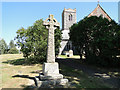 TM4593 : Aldeby War Memorial by Adrian S Pye
