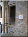 SE1633 : Bradford Cathedral: Stairs to former rood loft by Stephen Craven