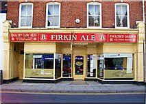 TF0920 : Firkin Ale at Bourne, Lincolnshire by Rex Needle