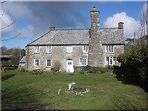 SS6243 : Farmhouse, Kentisbury by Roger Cornfoot