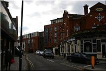 TQ1980 : View south along Gunnersbury Lane, W3 by Christopher Hilton