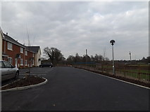 TM3876 : Cherry Close, Halesworth by Adrian Cable
