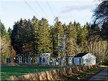 NH6454 : Muirend Electrical Substation by Julian Paren