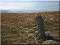 NY4517 : Boundary stone, Loadpot Hill by Karl and Ali