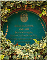 SU0000 : No. 10 (of 12) the Green Plaques of Wimborne - Gulliver House by Mike Searle