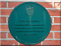 SU0000 : No. 11 (of 12) the Green Plaques of Wimborne - Victoria Hospital by Mike Searle