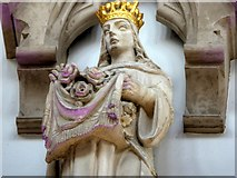 SJ8796 : Gorton Monastery, St Elizabeth (?) by David Dixon