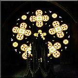 SJ8796 : Stained Glass Window, Gorton Monastery by David Dixon