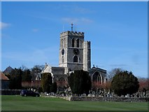 SP7006 : St Mary, Thame by Bikeboy