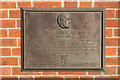 Photo of Henry Royce bronze plaque