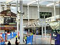 SJ8399 : Installation of New Ticket Barriers at Manchester Victoria Station, March 2015 by David Dixon