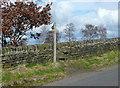SE0622 : Stile and footpath sign on Elland FP80 by Humphrey Bolton